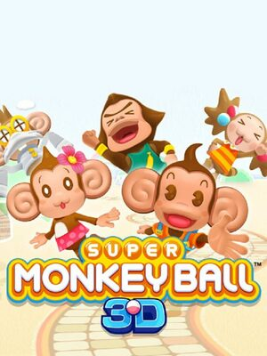 Cover for Super Monkey Ball 3D.
