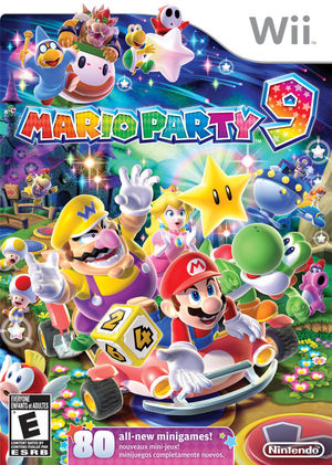 Cover for Mario Party 9.
