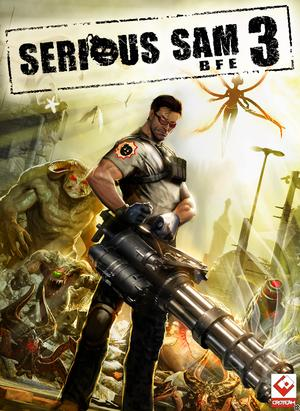 Cover for Serious Sam 3: BFE.