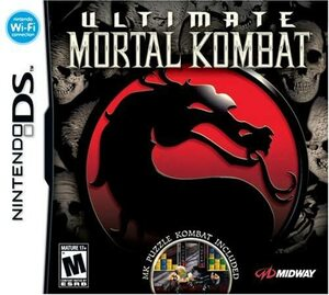 Cover for Ultimate Mortal Kombat.