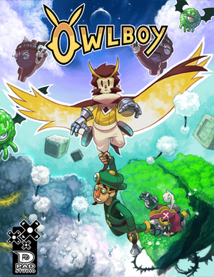 Cover for Owlboy.