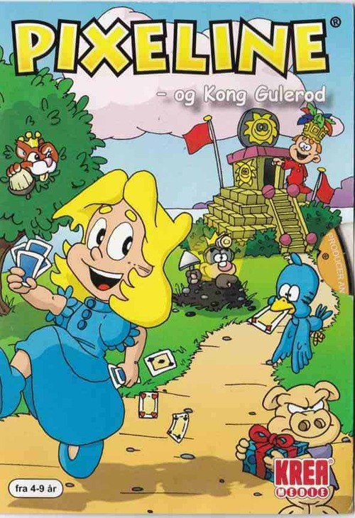 Cover for Pixeline: Kong Gulerod.