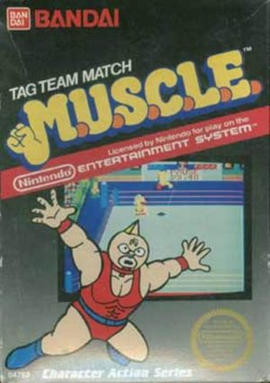 Cover for Tag Team Match: MUSCLE.