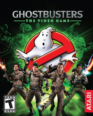 Cover for Ghostbusters: The Video Game.