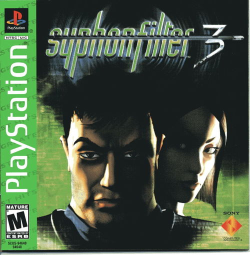 Cover for Syphon Filter 3.