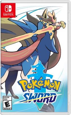 Cover for Pokémon Sword.