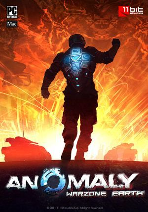 Cover for Anomaly: Warzone Earth.