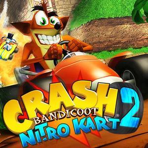 Cover for Crash Bandicoot Nitro Kart 2.