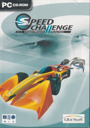 Cover for Speed Challenge: Jacques Villeneuve's Racing Vision.
