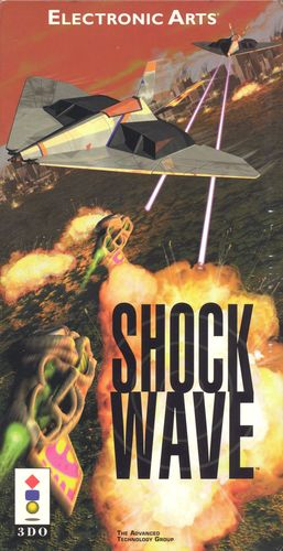 Cover for Shock Wave.