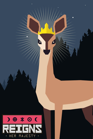 Cover for Reigns: Her Majesty.