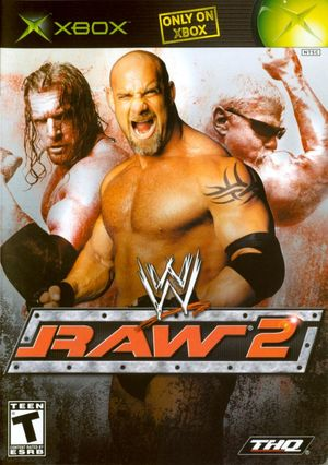 Cover for WWE Raw 2.