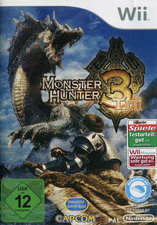 Cover for Monster Hunter Tri.