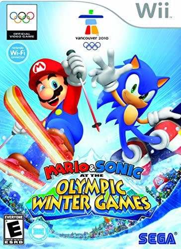 Cover for Mario & Sonic at the Olympic Winter Games.