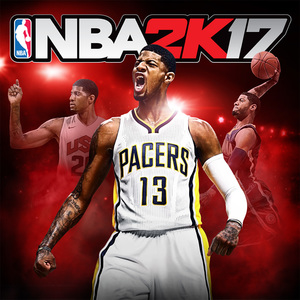 Cover for NBA 2K17.