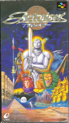 Cover for ActRaiser.
