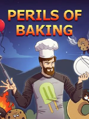 Cover for Perils of Baking.