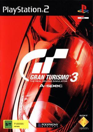 Cover for Gran Turismo 3: A-Spec.
