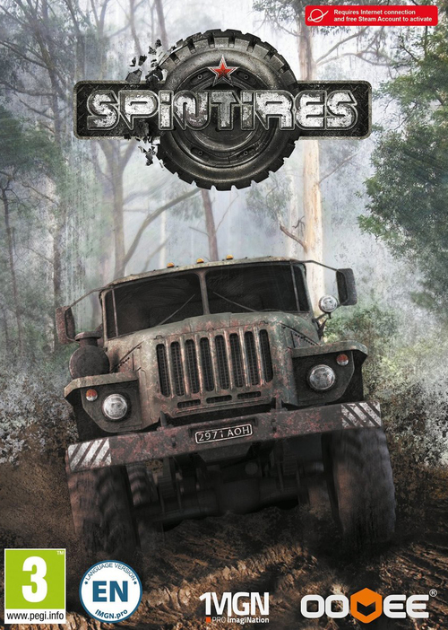 Cover for Spintires.