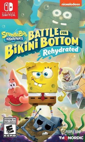 Cover for SpongeBob SquarePants: Battle for Bikini Bottom – Rehydrated.