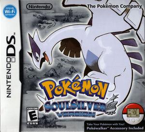 Cover for Pokémon SoulSilver.