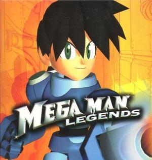 Cover for Mega Man Legends.