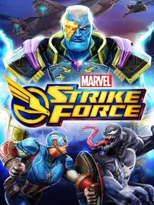 Cover for Marvel Strike Force.