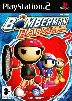 Cover for Bomberman Hardball.