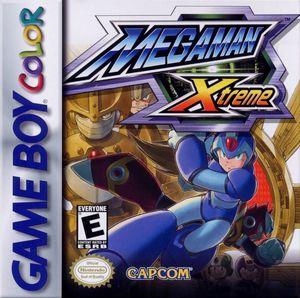 Cover for Mega Man Xtreme.