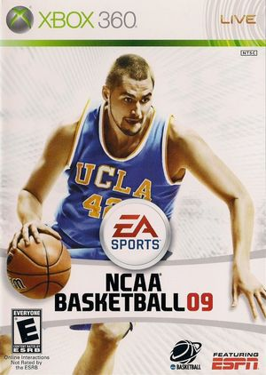 Cover for NCAA Basketball 09.