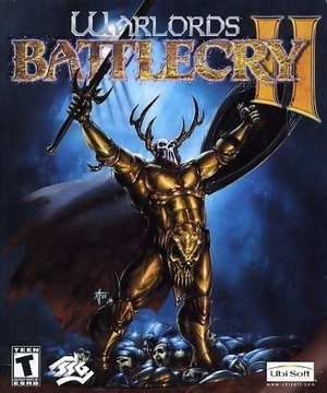 Cover for Warlords Battlecry II.