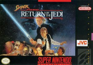 Cover for Super Star Wars: Return of the Jedi.