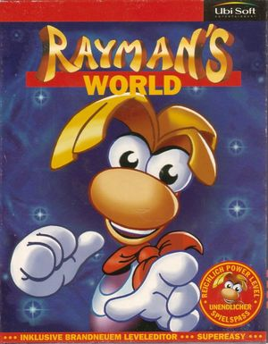 Cover for Rayman Designer.
