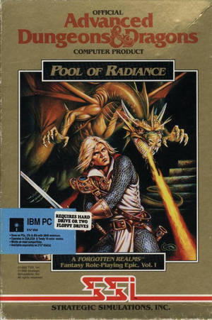 Cover for Pool of Radiance.