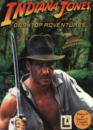 Cover for Indiana Jones and His Desktop Adventures.