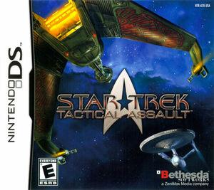 Cover for Star Trek: Tactical Assault.