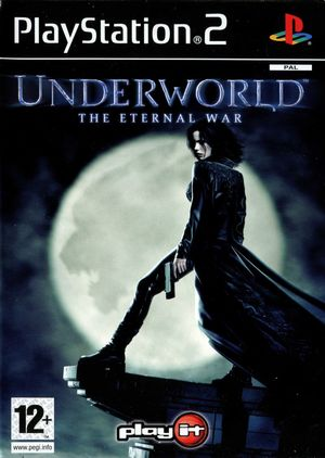 Cover for Underworld: The Eternal War.