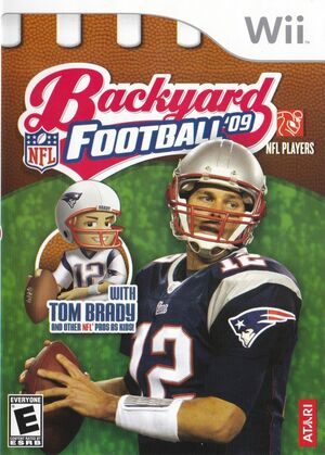 Cover for Backyard Football '09.