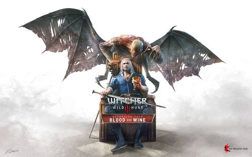 Cover for The Witcher 3: Blood and Wine.