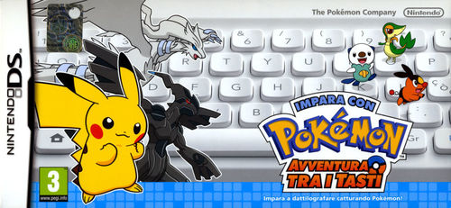 Cover for Learn with Pokémon: Typing Adventure.