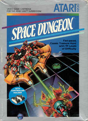 Cover for Space Dungeon.