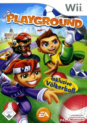 Cover for EA Playground.