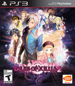 Cover for Tales of Xillia 2.