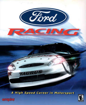 Cover for Ford Racing.