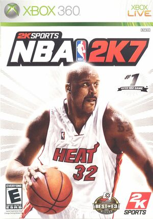 Cover for NBA 2K7.