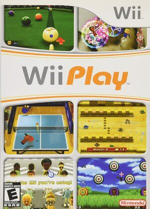 Cover for Wii Play.