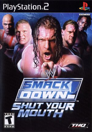 Cover for WWE SmackDown! Shut Your Mouth.