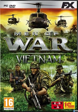Cover for Men of War: Vietnam.