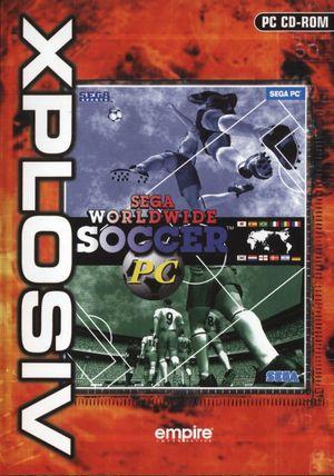 Cover for Sega Worldwide Soccer '97.
