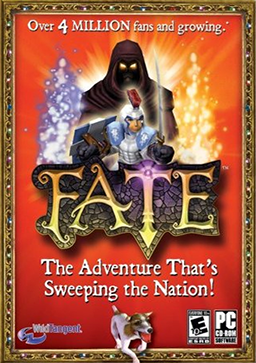 Cover for FATE.